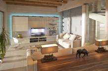 鉄骨住宅を全面リフォーム。自然素材で木のぬくもりを感じる住まいに!