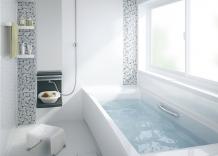 基本機能を備えたFRP浴槽、コストパフォーマンスの高いベーシッククラス タカラスタンダード ミーナ